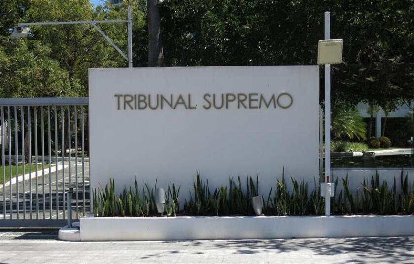 Fachada del Tribunal Supremo en San Juan, Puerto Rico. EFE/Archivo