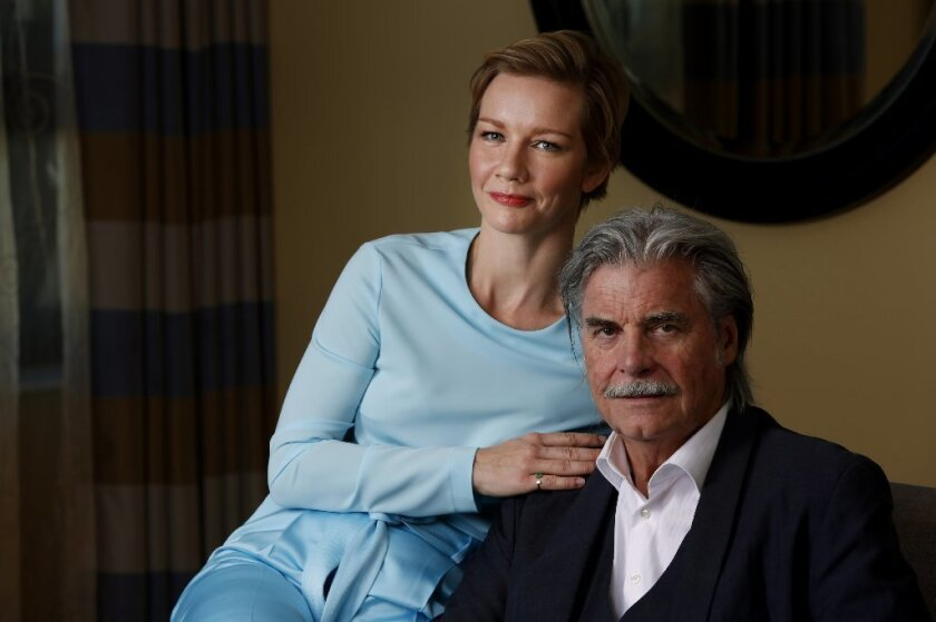 Peter Simonischek and Sandra Hüller