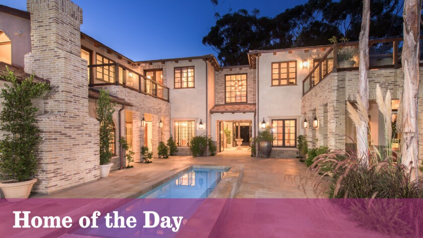 Modern amenities and Old Hollywood details blend seamlessly at this Pacific Palisades estate listed for $17.488 million.