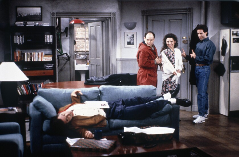 Netflix acquires the global streaming rights to 'Seinfeld'