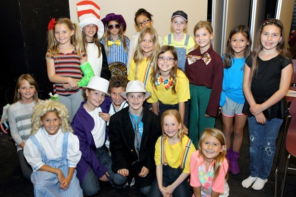 "Academy Drama Club cast of ""Seussical"""