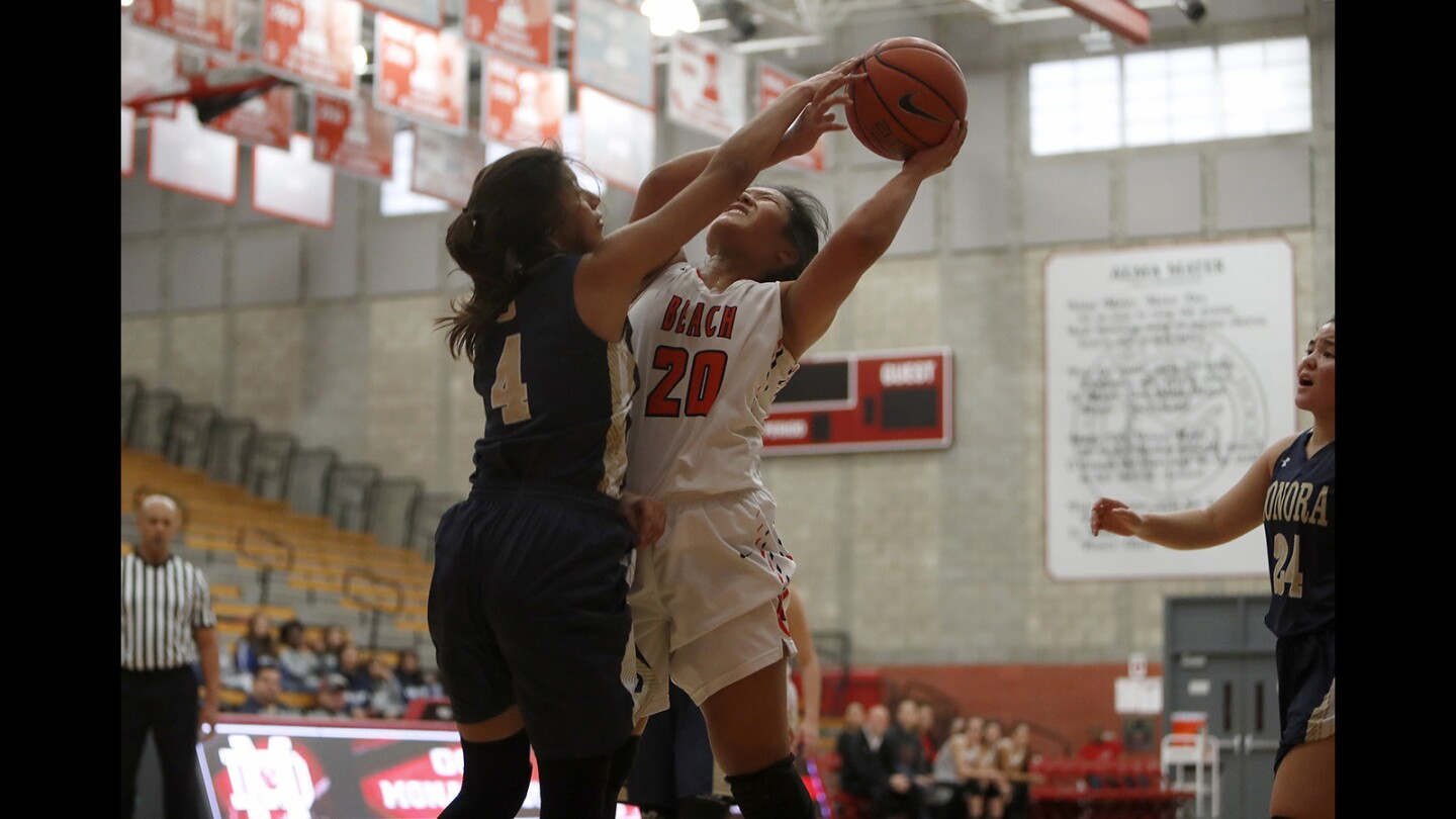 Photo Gallery: Huntington Beach vs. Sonora in girls' basketball