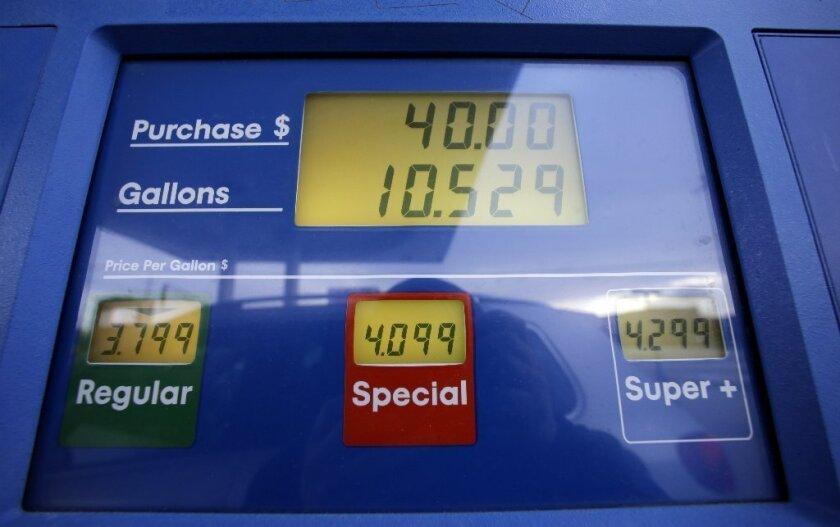 California gas prices peak; pump pain changes U.S. driving habits