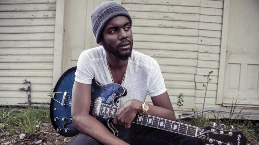 Blues guitarist Gary Clark Jr. Frank Mddocks photo