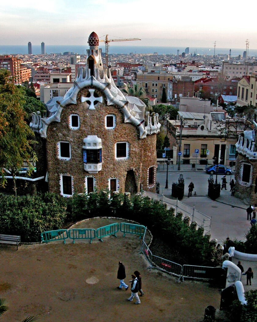Architect Antoni Gaudi was commissioned to design Park Guell in Barcelona as a gathering place for the city's aristocracy.