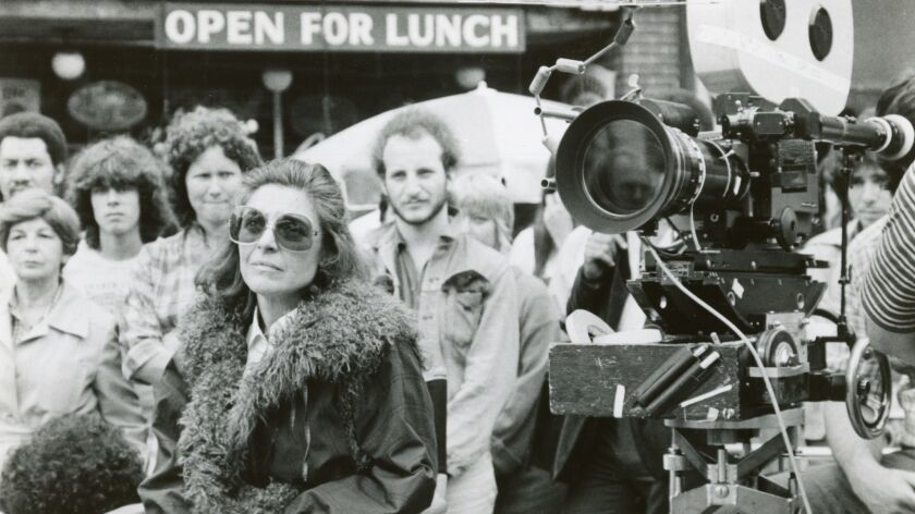 Fatso (1980) Directed by Anne Bancroft Shown on the set, left foreground: director Anne Bancroft