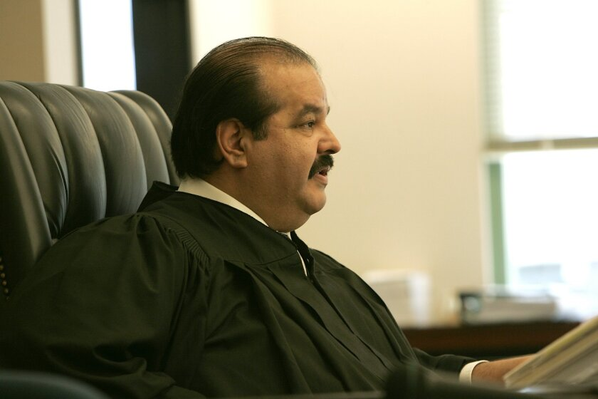 Luis Vargas retired as a judge in the San Diego Superior Court in January. U-T file photo