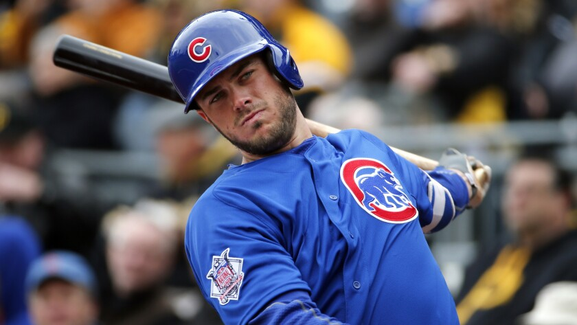All-Star third baseman Kris Bryant, at 25, is at the heart of the young and talented Cubs core of players.