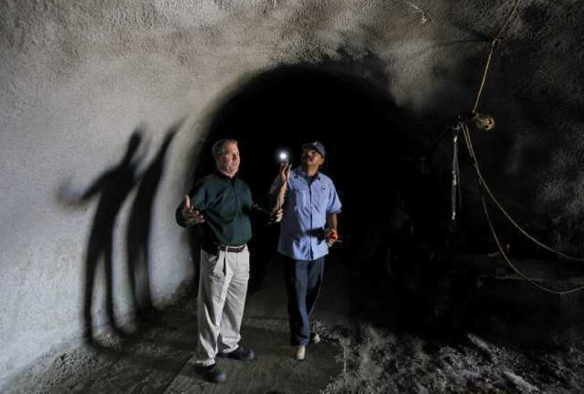 Tunnel realignment to go before water district board