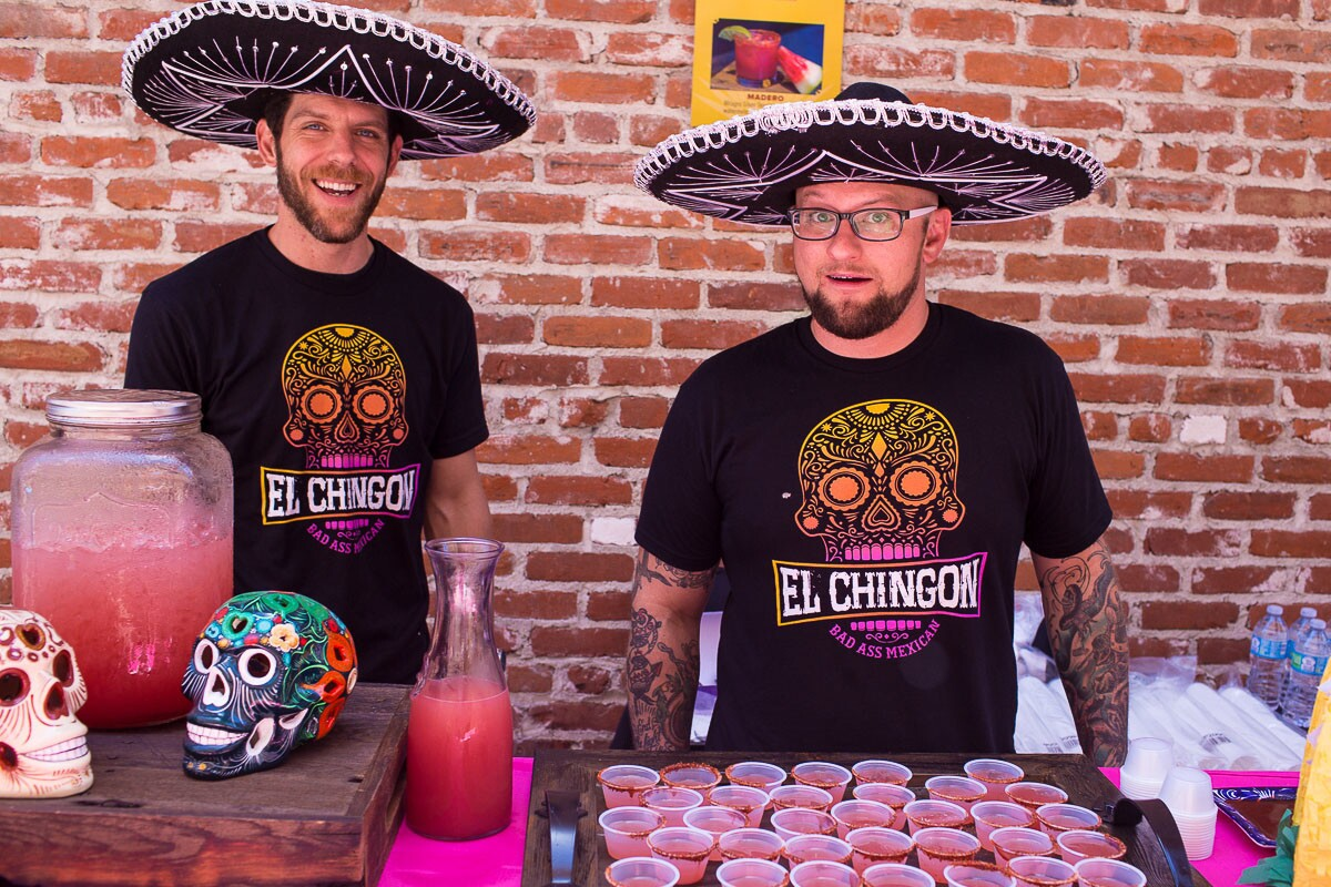 For 31 days in March, some of San Diego's top bars and restaurants made signature drinks for Margarita Month. On June 17, 2017, more than 1,000 people attended the Grand Tasting Event, where they got to sip margaritas at Horton Grand Hotel in downtown. (Brian Fontaine)