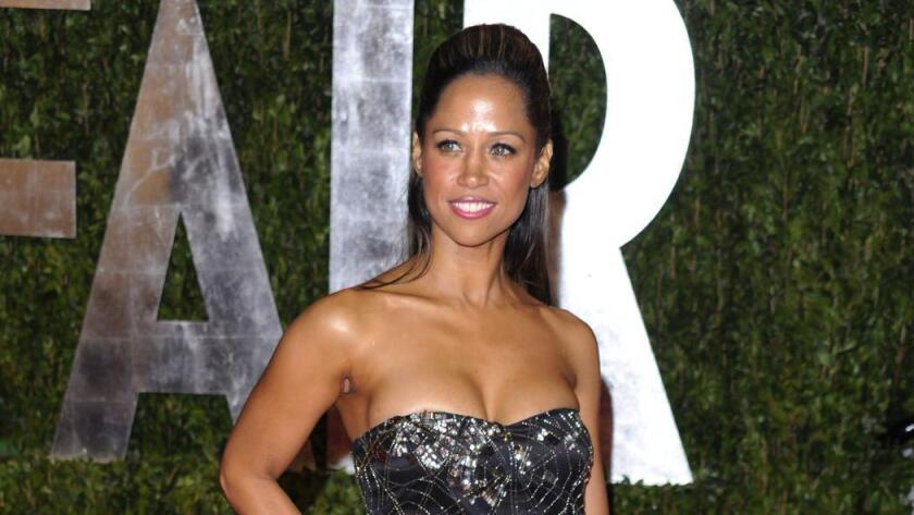 Stacey Dash, shown at the Vanity Fair Oscars party in 2010, told Fox News she would do away with Black History Month, BET.