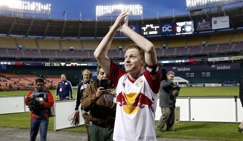 Dax McCarty sends New York past D.C. United, 1-0, in Eastern semifinal opener