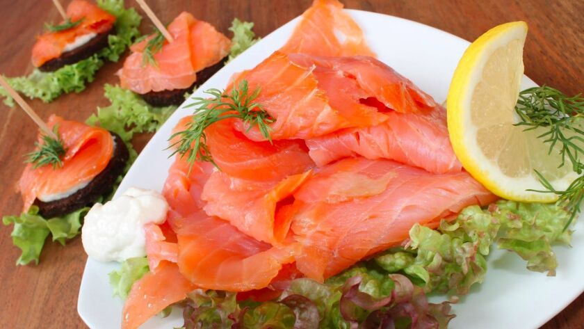 At the new Seven Seas Gourmet Foods in Glendale you'll find smoked fish, caviar and deli meats.