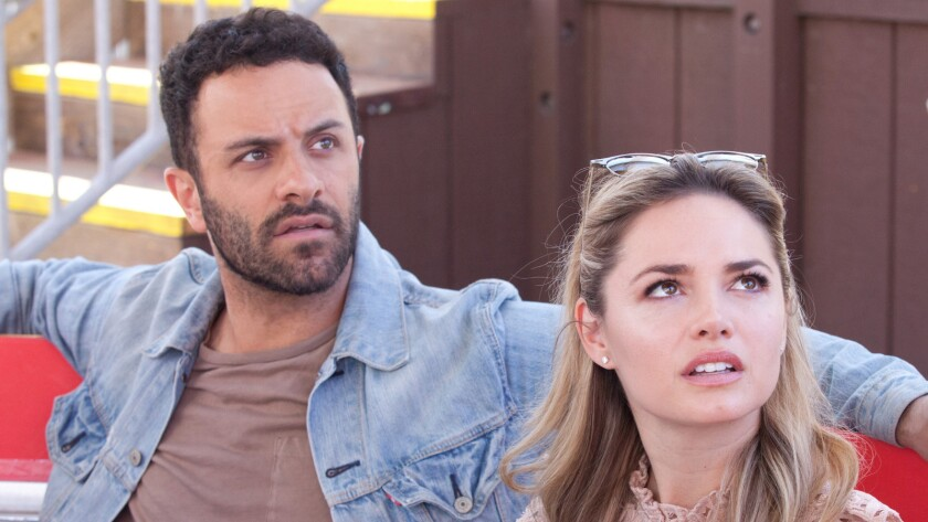 Aaron Costa Ganis and Annie Heise in the movie 'First Love'