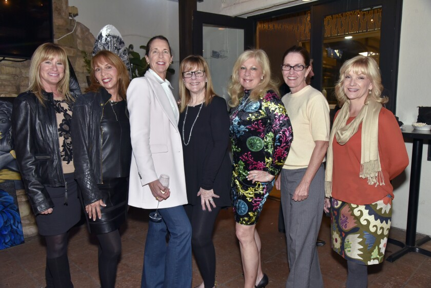Liz O'Neill, Judy Judy, RSF Tea3 Foundation Treasurer Deana Ingall, Stelli Graff, Secretary Gina Jordan, Nancy Ryan, Toni Taves