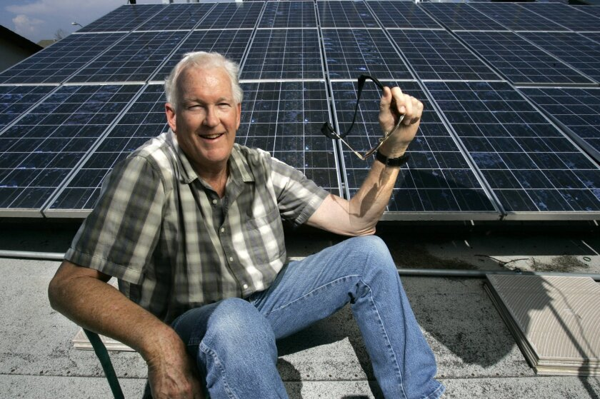 Bruce Haupt estimates he has invested about $230,000 on clean-energy improvements for his home. JOHN GASTALDO • U-T