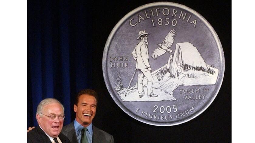 Starr and Schwarzenegger in 2004
