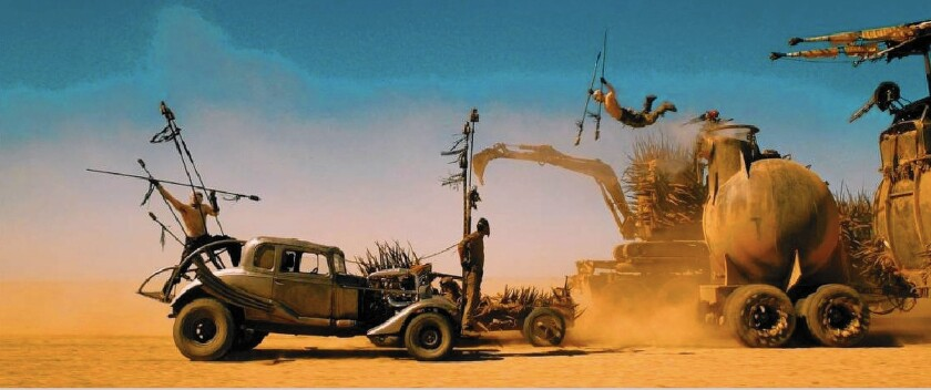 Naturalistic vision in 'Mad Max: Fury Road'