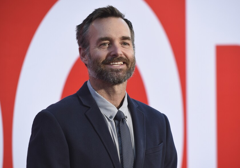 """FILE - Will Forte arrives at the premiere of """"Good Boys"""" in Los Angeles on Aug. 14, 2019. """"MacGruber,"""" a parody skit on """"Saturday Night Live"""" that became a movie, is coming back to the small screen. The NBCUniversal streaming platform Peacock said Monday that Forte will once again play the mullet-haired hero for a new half-hour series. (Photo by Chris Pizzello/Invision/AP, File)"""