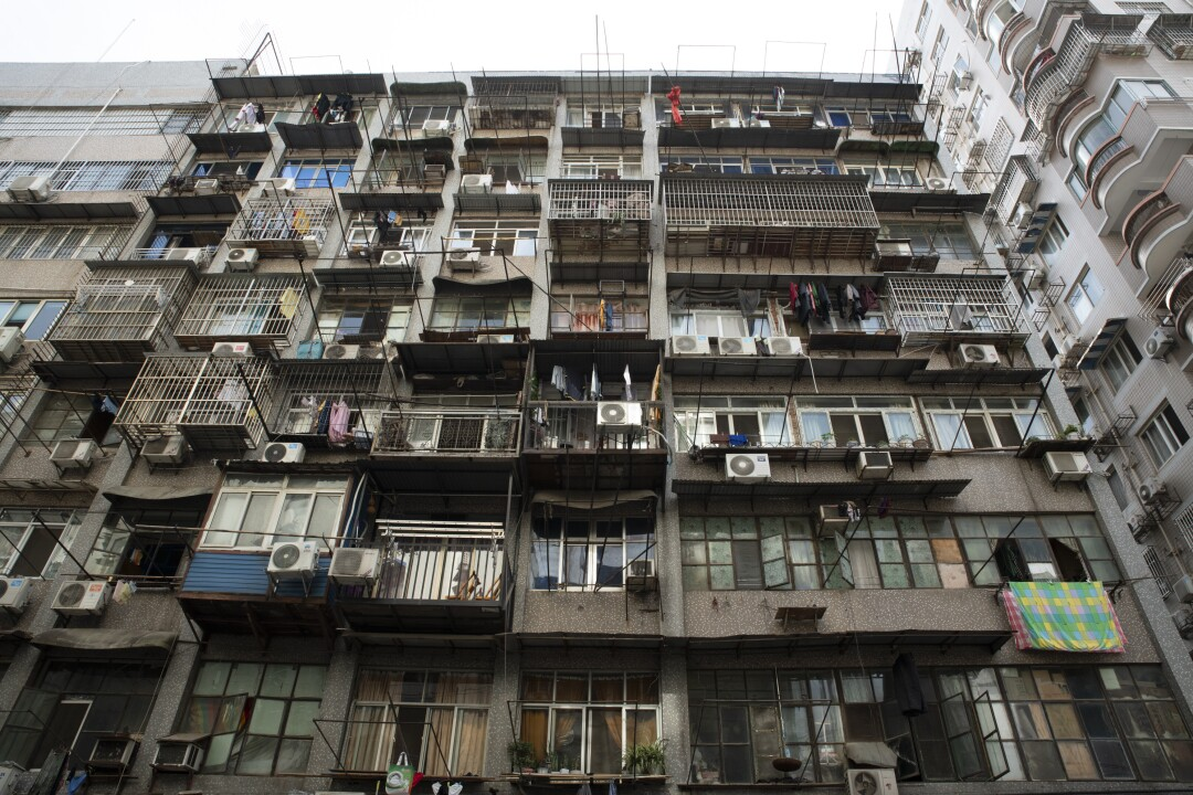 Wuhan apartment building