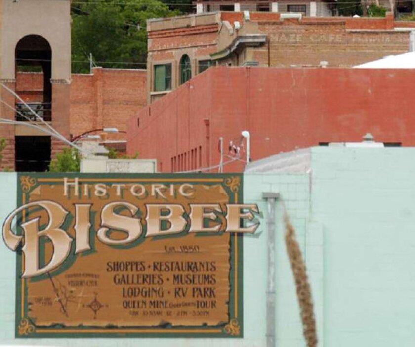 Downtown Bisbee, Ariz.