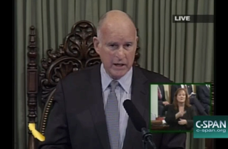 Gov. Jerry Brown calls for truth and civility