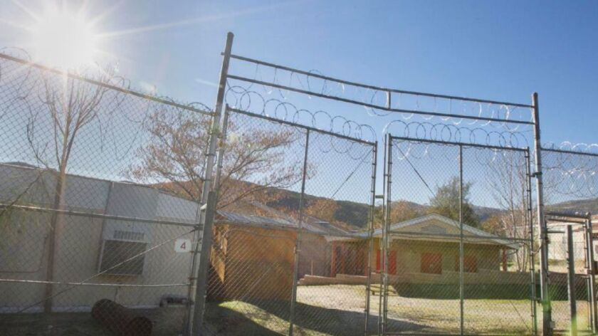The abandoned Camp Barrett , a former youth correction facility run by the county southeast of Alpine is being floated as a possible housing site for migrants waiting for their asylum hearings in the US.