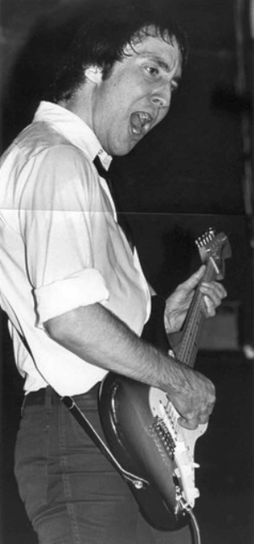 """Doug Fieger performs with the Knack in 1979. """"My Sharona"""" was inspired by Fieger's former girlfriend."""