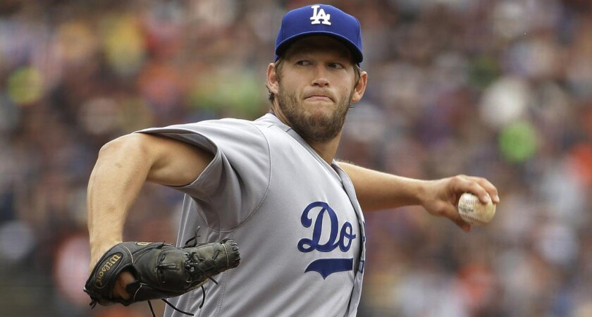 El pitcher Clayton Kershaw fue opacado en su retorno con los Dodgers.