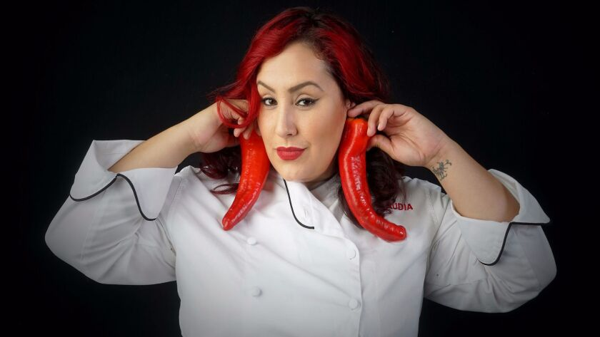 "San Diego resident and 2015 ""MasterChef"" competition winner Claudia Sandoval is known for her fun-loving personality. She will orchestrate a ""Taco Takeover"" on the MasterChef Cruise."