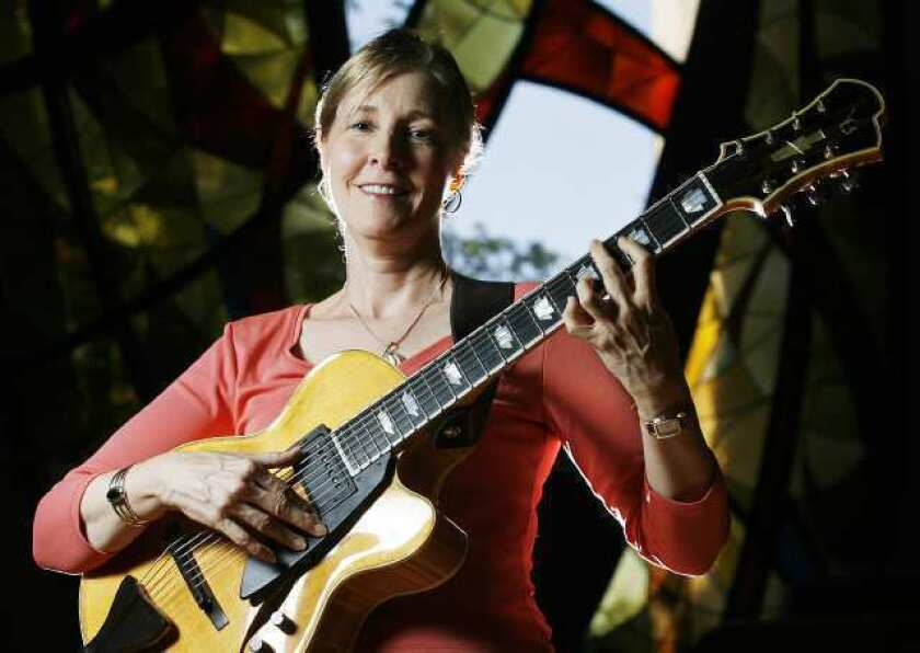 A singer-guitarist who plays with a jazz attitude