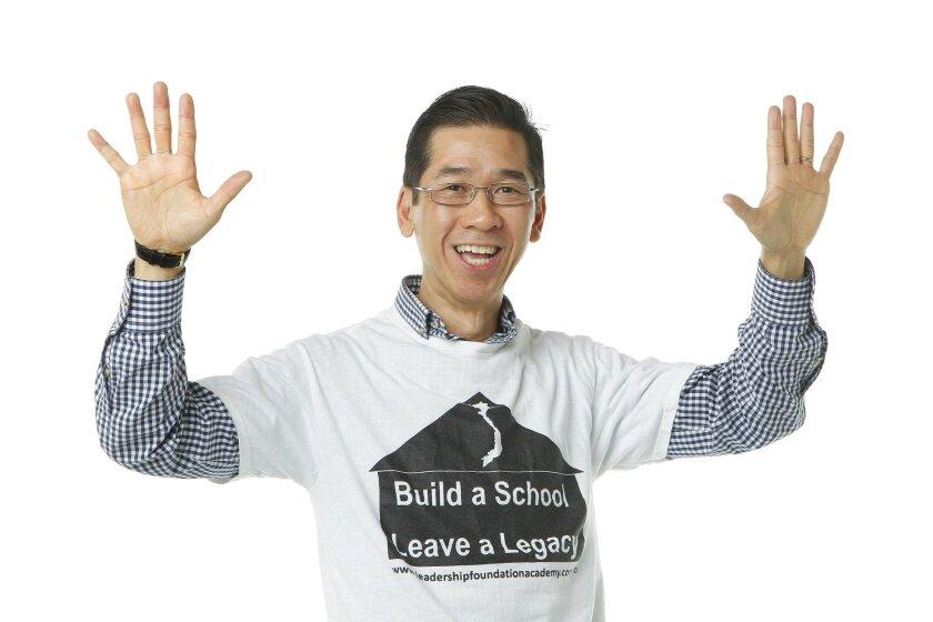 Jimmy Thai builds schools in Vietnam for the poor.
