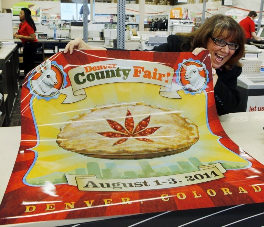 Talk about a pot pie: This year's Denver County Fair will feature a marijuana theme.