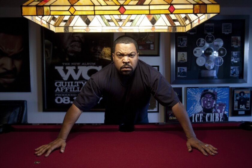 Ice Cube talks about the long road to making 'Straight Outta Compton,' working with his son and former band mates and more.