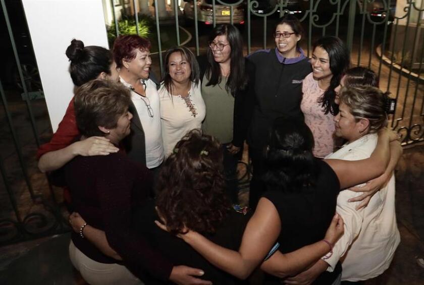 """""""Chicas lo logramos"""", gritan mexicanas que declararán ante la CorteIDH"""