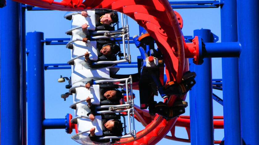 Volare hang gliding coaster by Italy-based Zamperla.