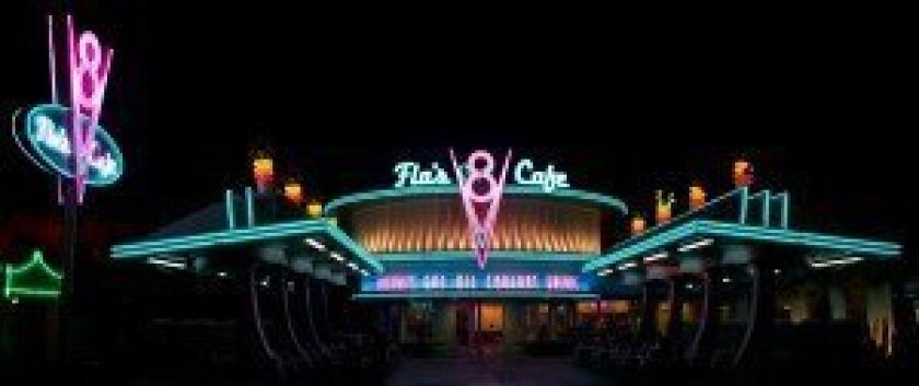 Flo's V8 Café in Cars Land