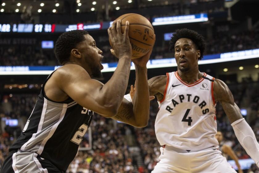 Spurs Raptors Basketball