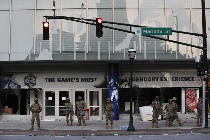 Minneapolis Police Death Protest Atlanta