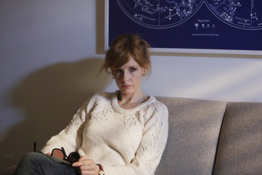 """This image released by ABC shows Kelly Reilly in a scene from the new medical drama """"Black Box,"""" premiering Thursday at 10 p.m. EDT on ABC. (AP Photo/ABC, Patrick Harbron)"""
