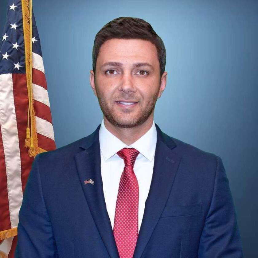 El Cajon City Councilman Ben Kalasho has resigned from office.