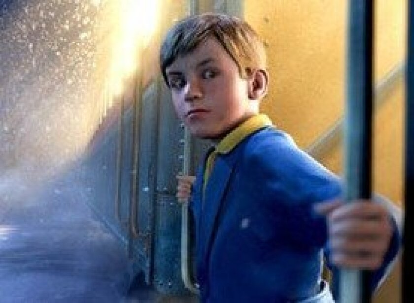 """Many audience goers also were creeped out by the animated characters in """"Polar Express,"""" a Christmas tale that opened in 2004."""