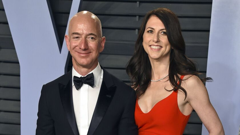 Amazon.com Inc. founder Jeff Bezos and his wife, MacKenzie, are divorcing after 25 years.