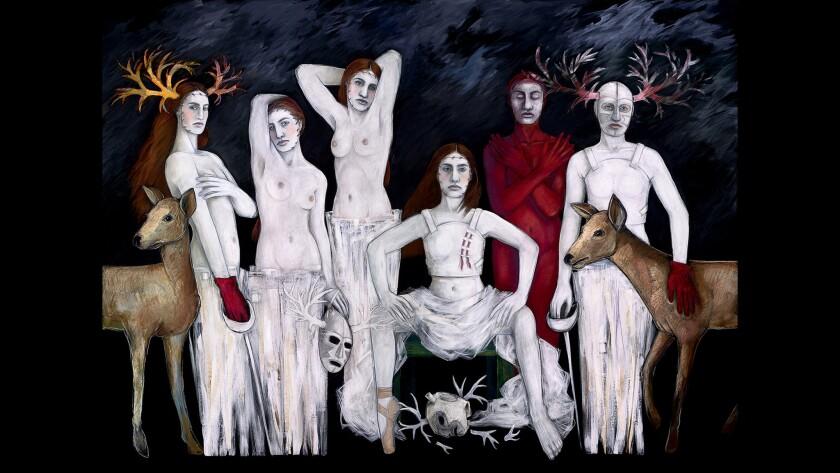 """Les Demoiselles D'Barrio"" by Judithe Hernandez, 2013"