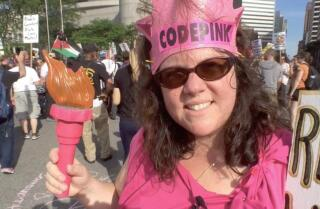 Code Pink at the Republican National Convention