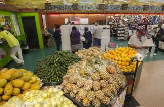 RAW voting at Foodland Mercado