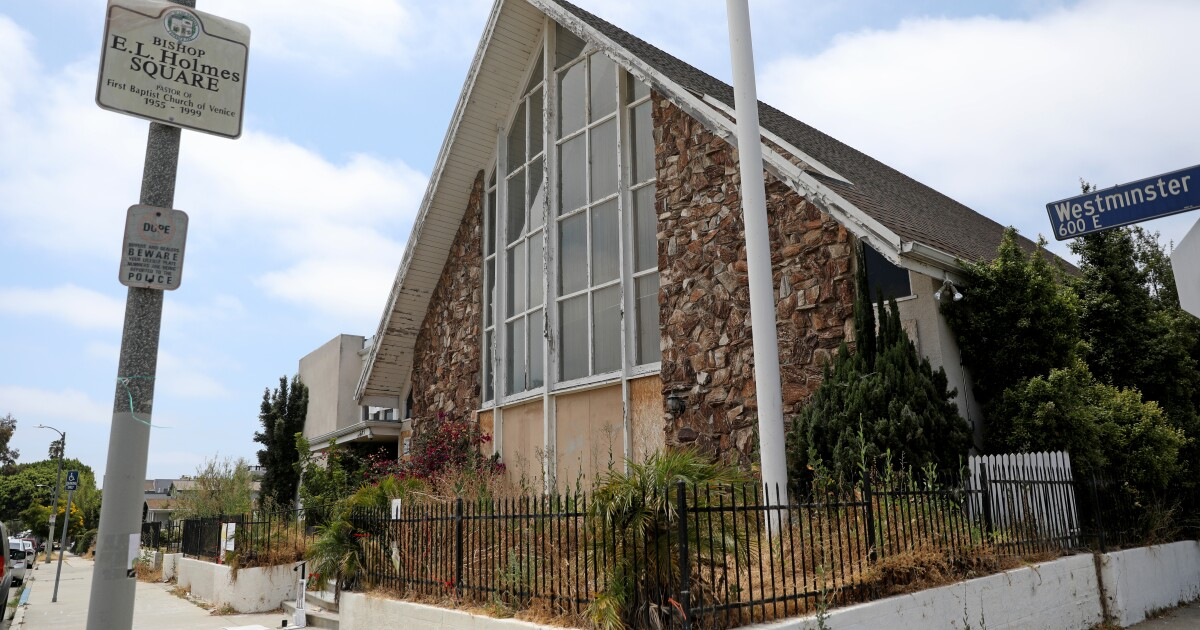 Should a black church in Venice really become a mansion?