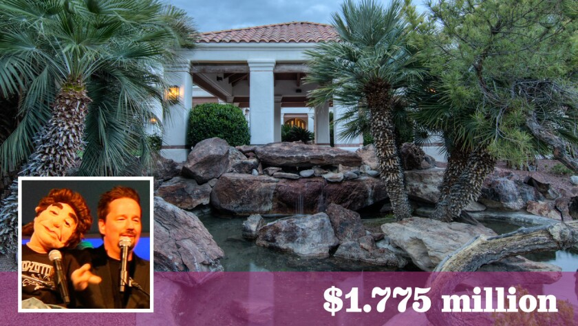 Ventriloquist and comedian Terry Fator has sold his roughly two-acre estate in Las Vegas for $1.775 million.