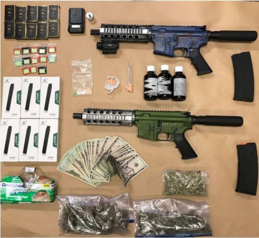 Fountain Valley arrests