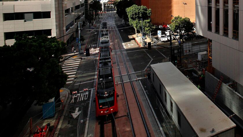Measure A increases the sales tax to pay for transit funding.